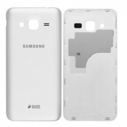 Galinis dangtelis Samsung J320 J3 2016 baltas originalus (used Grade A)