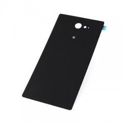 Galinis dangtelis Sony D2303 Xperia M2 juodas originalus (used Grade A)