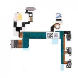 Lankscioji jungtis Apple iPhone 5S on/off, mute, garso kontroles ORG