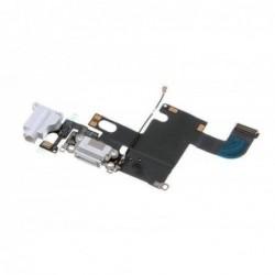 Lankscioji jungtis Apple iPhone 6 audio ir ikrovimo kontaktu, su mikrofonu balta naudota ORG