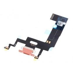 Lankscioji jungtis Apple iPhone XR ikrovimo kontaktu, su mikrofonu rausvas (coral) ORG
