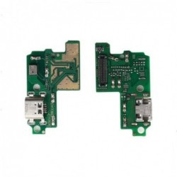 Lankscioji jungtis Huawei P10 Lite ikrovimo kontakto su mikrofonu originali (service pack)