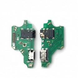 Lankscioji jungtis Huawei P20 Lite ikrovimo kontakto su mikrofonu originali (service pack)