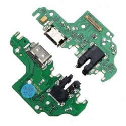 Lankscioji jungtis Huawei P40 Lite ikrovimo kontakto su mikrofonu HQ