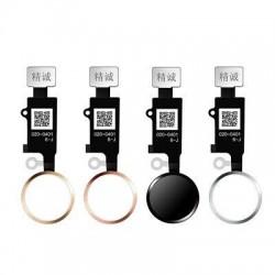 Lankscioji jungtis iPhone 7/7 Plus/8/8 Plus JC 6th Generation HOME mygtuko sidabrine
