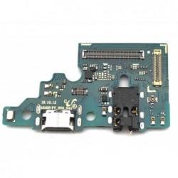 Lankscioji jungtis Samsung A515 A51 2020 su ikrovimo kontaktu, mikrofonu, ausiniu lizdu originali (s
