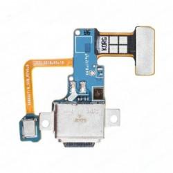 Lankscioji jungtis Samsung N960F Note 9 su ikrovimo kontaktu, mikrofonu ORG