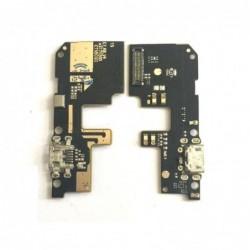 Lankscioji jungtis Xiaomi Redmi 5 Plus ikrovimo kontakto su mikrofonu ORG