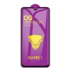 """LCD apsauginis stikliukas """"11D Full Glue"""" Huawei P40 Lite juodas be ipakavimo"""