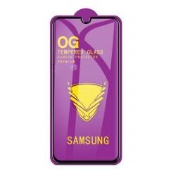"""LCD apsauginis stikliukas """"11D Full Glue"""" Samsung A105 A10/M105 M10 juodas be ipakavimo"""