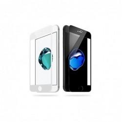 """LCD apsauginis stikliukas """"5D Full Glue"""" Apple iPhone 6 Plus/6S Plus lenktas juodas be ipakavimo"""