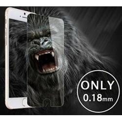 """LCD apsauginis stikliukas """"Gorilla 0.18mm"""" Apple iPhone 6 Plus/6S Plus juodas be ipakavimo"""