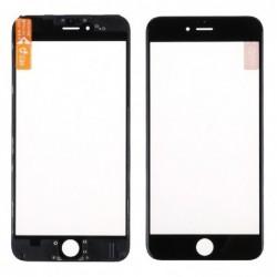 LCD stikliukas Apple iPhone 6 Plus su remeliu ir OCA juodas ORG (v2)