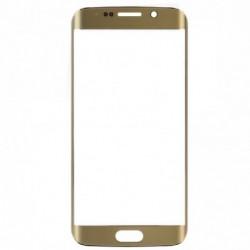 LCD stikliukas Samsung G925F S6 Edge auksinis ORG