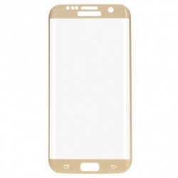 LCD stikliukas Samsung G930F S7 auksinis