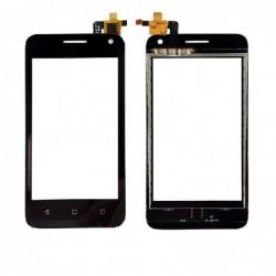 Lietimui jautrus stikliukas Huawei Y360 Y3 juodas HQ