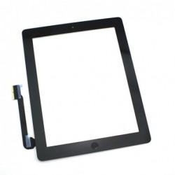 Lietimui jautrus stikliukas iPad 4 juodas su home mygtuku ir laikikliais HQ