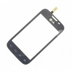 Lietimui jautrus stikliukas LG D170 L40 dual juodas HQ