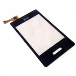 Lietimui jautrus stikliukas LG E430 L3-II juodas HQ
