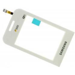 Lietimui jautrus stikliukas Samsung E2652 Champ Duos baltas HQ