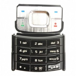 Nokia 6500C klaviatura juoda ORG