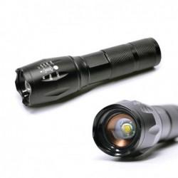 PLATINET ALUMINIUM FLASHLIGHT TACTICAL LED (250lm 500mA) black
