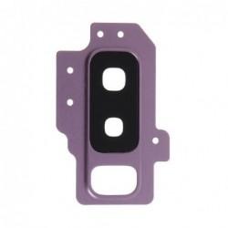 Samsung G965 S9 Plus kameros stikliukas violetinis HQ