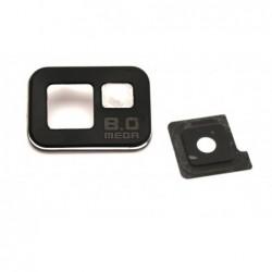 Samsung i9100 S2 kameros stikliukas juodas