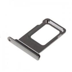 SIM korteles laikiklis Apple iPhone XS Max pilkas (space grey) ORG
