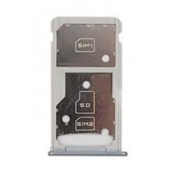 SIM korteles laikiklis Huawei Honor 5C/Honor 7 Lite sidabrinis originalus (service pack)