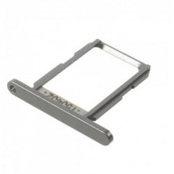 SIM korteles laikiklis Samsung G925 S6 Edge sidabrinis ORG