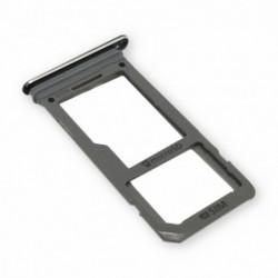 SIM korteles laikiklis Samsung G950/G955 S8/S8+ juodas ORG