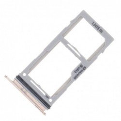 SIM korteles laikiklis Samsung S10e/S10/S10+ baltas (Ceramic White) ORG