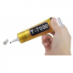 Universalus klijai T7000 50ml juodi (tinka telefonu remeliu klijavimui)