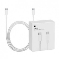 "USB kabelis Apple ""USB-C (Type-C) to USB-C (Type-C)"" (2M) (A1739) iPhone/iPad/iPod/Macbook/iMac/AirP"