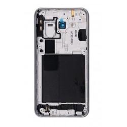 Vidinis korpusas Samsung J320 J3 2016 pilkas (juodas) su zumeriu ir soniniais mygtukais originalus (
