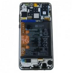 Ekranas Huawei P30 Lite su lietimui jautriu stikliuku ir remeliu juodas originalus (used Grade A)