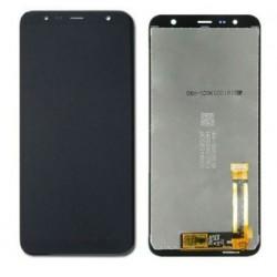 Ekranas Samsung J415F/J4+/J4 Plus J610F/J6+/J6 Plus su lietimui jautriu stikliuku juodas originalus (used Grade B)