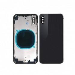 Galinis dangtelis iPhone X pilkas (space grey) pilnas HQ