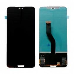 Ekranas Huawei P20 PRO su lietimui jautriu stikliuku juodas (TFT version) HQ