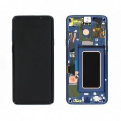 Ekranas Samsung G965F S9 Plus su lietimui jautriu stikliuku melynas (Coral Blue) originalus (used Grade A)