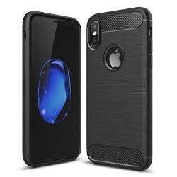 Dėklas Carbon iPhone XR juodas