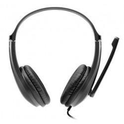 Laisvu ranku iranga CANYON HSC-1 basic su mikrofonu juoda (2m laidas)