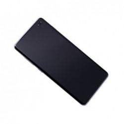Ekranas Samsung G975F S10 Plus su lietimui jautriu stikliuku melynas (Prism Blue) originalus (service pack)