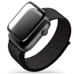 "LCD apsauginis stikliukas ""5D Full Glue"" Apple Watch 40mm be ipakavimo"