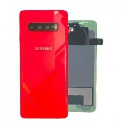 Galinis dangtelis Samsung G973 S10 raudonas (Cardinal Red) originalus (used Grade C)