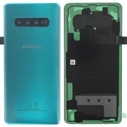 Galinis dangtelis Samsung G975 S10+ zalias (Prism Green) originalus (used Grade C)