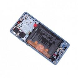 Ekranas Huawei P30 su lietimui jautriu stikliuku su remeliu ir baterija Breathing Crystal originalus (service pack)