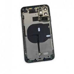 Galinis dangtelis iPhone 11 Pro Max zalias (Midnight Green) pilnas su sleifais ir baterija (used Grade A)