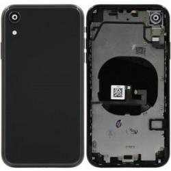 Galinis dangtelis iPhone XR juodas pilnas su sleifais ir baterija (used Grade A)